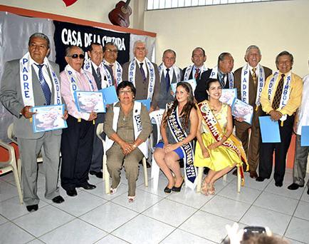 Casa de la Cultura rindió homenaje a padres
