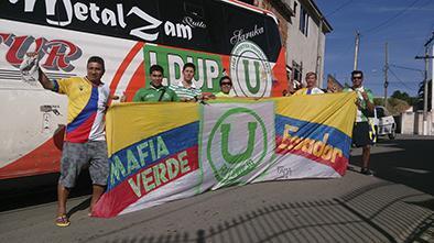 Manabitas apoyarán a la Tricolor en Brasilia