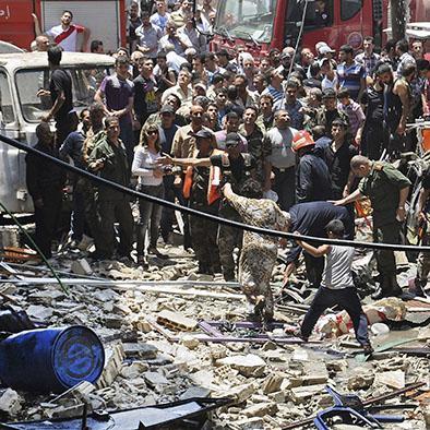 Un atentado con coche bomba deja una decena de muertos y heridos