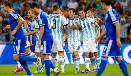 Argentina gana por 2-1 a Bosnia en el Maracaná (Videos)