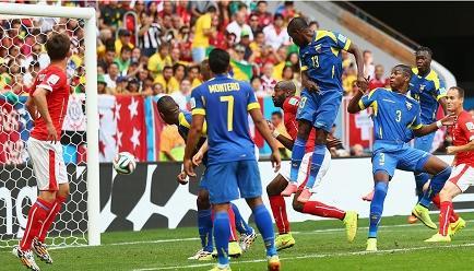 Suiza gana 2-1 a Ecuador en Brasilia (Videos)