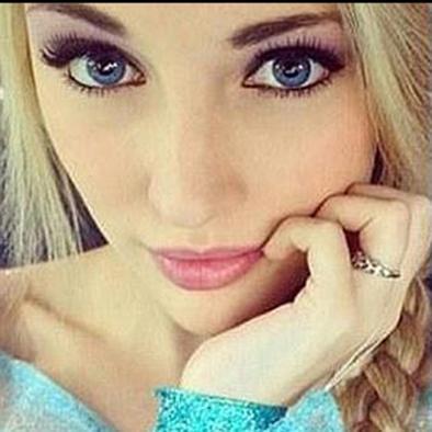 """Princesa Elsa de """"Frozen"""" existe en la vida real"""