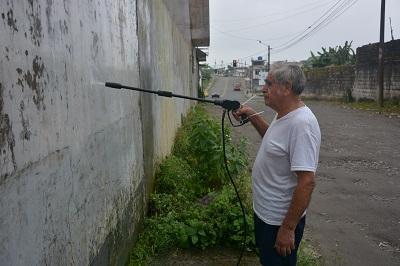 Alcalde de Santo Domingo emite disposición para que se pinten casas