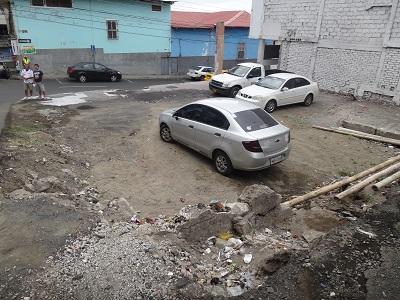 Inicia utilización de terrenos baldíos