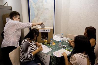 23 colombianos 'desaparecidos' fueron encontrados cuando acudieron a votar