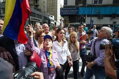 Opositora venezolana asegura que si es detenida será muestra de 'dictadura'
