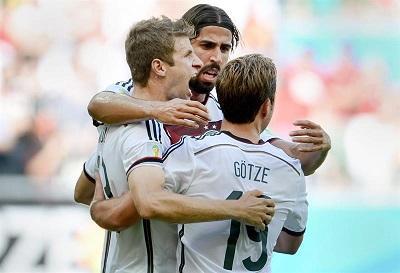 ¡Goleada! Alemania derrotó 4-0 a Portugal con goles de Müller y Hummels