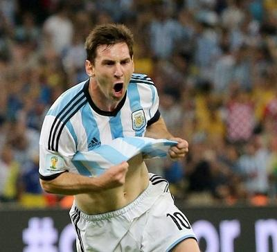 El primer gol de Messi en el Mundial provocó 236.000 tuits en un minuto