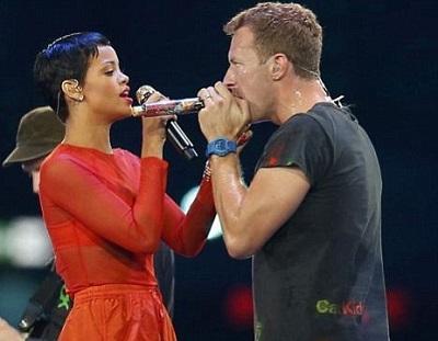 Chris Martin y Rihanna están cada vez más juntos