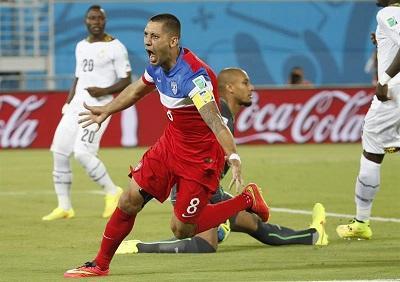 Clint Dempsey marcó el quinto gol más rápido de la historia de los Mundiales