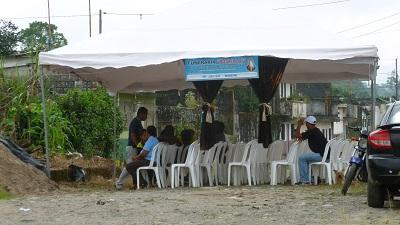 Asesinado es velado en la lotización Los Unificados de Santo Domingo