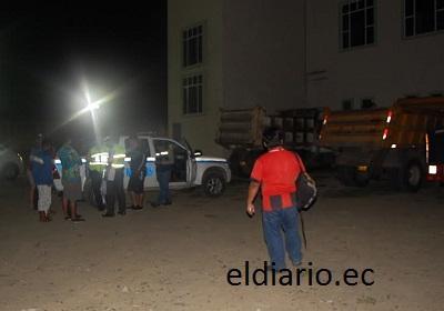 Atacan a dos guardias para robar en el edificio municipal de Jaramijó