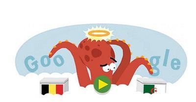 Google 'resucita' al pulpo Paúl para predecir resultado del cotejo Argelia-Bélgica
