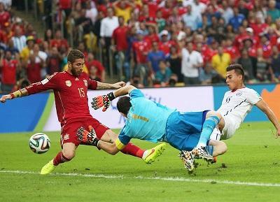 España, el campeón del mundo, se despide del Mundial tras caer 2-0 ante Chile (VIDEO)