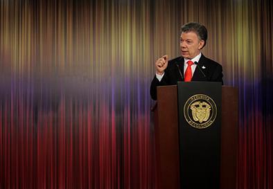 Santos no quiere más reelección