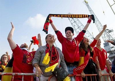 Un hincha muere mientras celebraba el triunfo de Bélgica en el Mundial