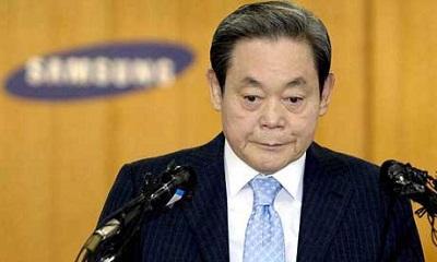 El presidente de Samsung sigue sin habla tras haber sufrido infarto