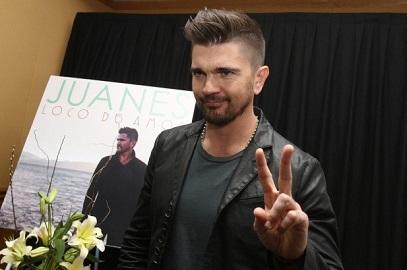Juanes presenta su sencillo 'Una flor', del álbum 'Loco de amor'