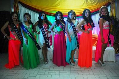 Siete candidatas buscan ser la reina de El Carmen