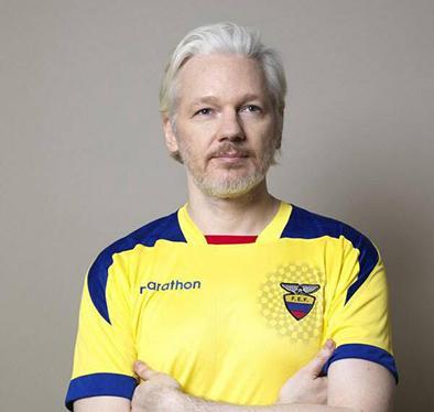 "Assange: ""Ecuador merece ganar Mundial"""
