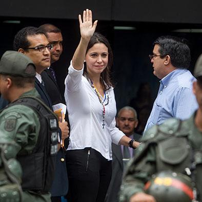 Maduro Arremete Contra Machado