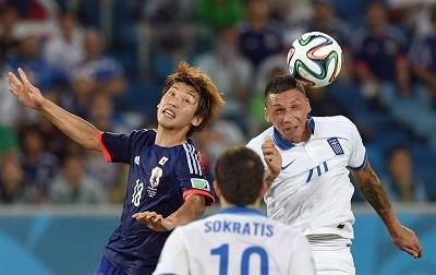 Japón empató 0-0 frente a Grecia en el Arena Das Dunas