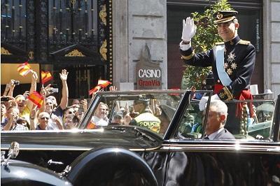 Felipe VI es proclamado rey y garantiza que será un jefe de Estado leal