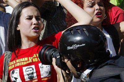 17 reporteros han sido agredidos en Brasil desde el inicio del Mundial