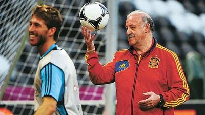 A Sergio Ramos le gustaría que Del Bosque siga en la selección española