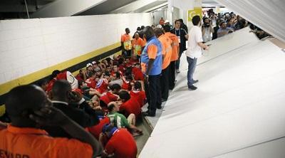 Hinchas 'invasores' del Maracaná no podrán regresar para el Mundial