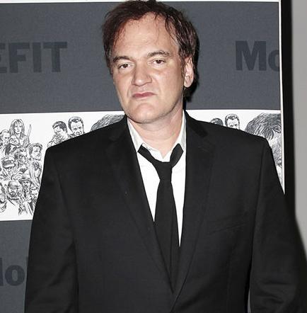 Dos personajes  en filme de Tarantino