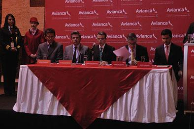 Líneas Avianca y Aerogal se unen