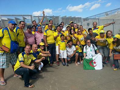 Manabitas con ilusión en Ecuador vs Honduras