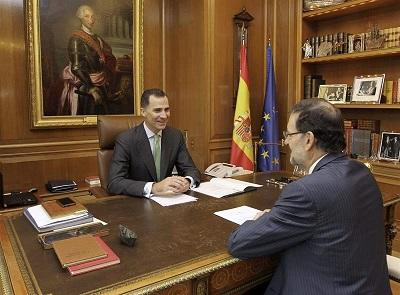 Felipe VI inicia su reinado con contactos institucionales