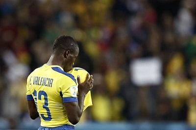 Enner Valencia es el goleador de América en el Mundial Brasil 2014