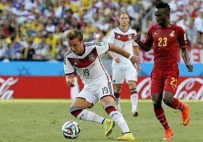 Alemania empata 2-2 con Ghana en la segunda jornada del grupo G