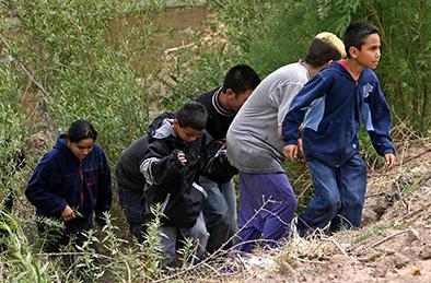 71 mil niños presos en la frontera