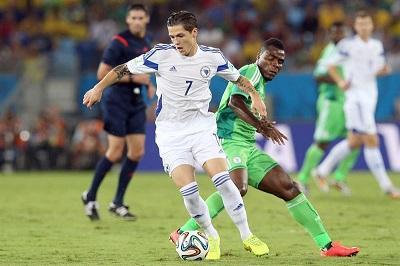 Nigeria venció 1-0 a Bosnia y lo elimina del Mundial