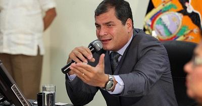 Rafael Correa cree que Colombia alcanzará la paz bajo liderazgo Santos