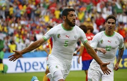 Argelia gana 4-2 a Corea del Sur y sigue en la lucha por pasar a octavos
