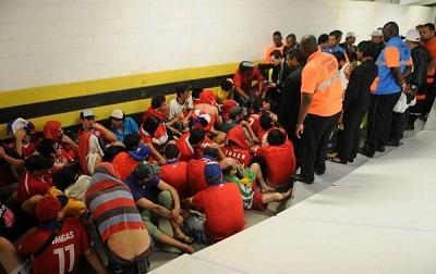 56 de los 85 chilenos que invadieron el Maracaná abandonaron Brasil