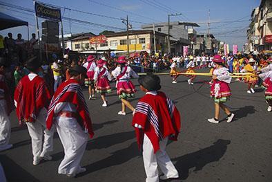 Pregón abrió los festejos en El Carmen