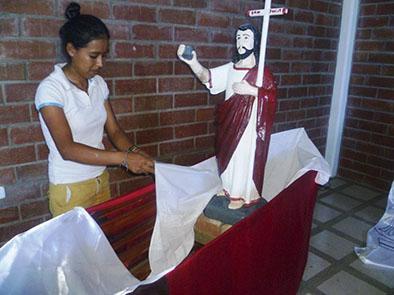 Se realizan  fiestas religiosas