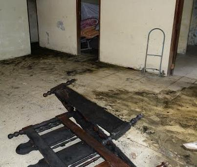 Incendio consumió parte de una vivienda en Portoviejo