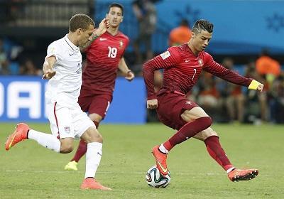 Portugal se salva de la eliminación tras empatar 2-2 a EE.UU.