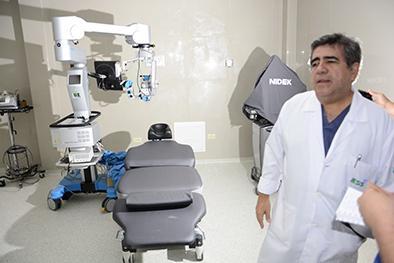 Más equipos  oftalmológicos