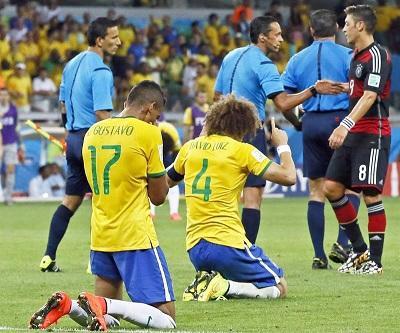 ¡Humillados en casa! Alemania goleó 7-1 a Brasil y lo dejó fuera del Mundial