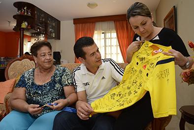 Carlos Vera alcanzó su sueño mundialista y recuerda sus inicios