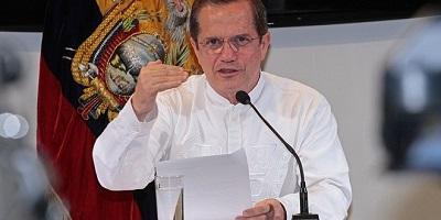 Ecuador reitera disposición a ayudar en avance de diálogos de paz en Colombia