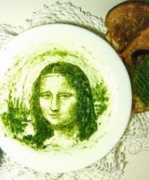 Artista chileno crea retratos usando aguacates